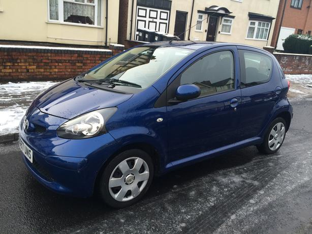 toyota aygo 2007 5 door 1 0 vvti 1 owner 2 keys mot smethwick birmingham. Black Bedroom Furniture Sets. Home Design Ideas