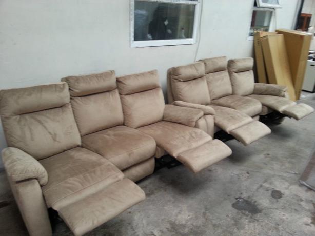Furniture Village Jemima Sofa ex furniture village jemima 3+3 recliner sofas moseley, birmingham