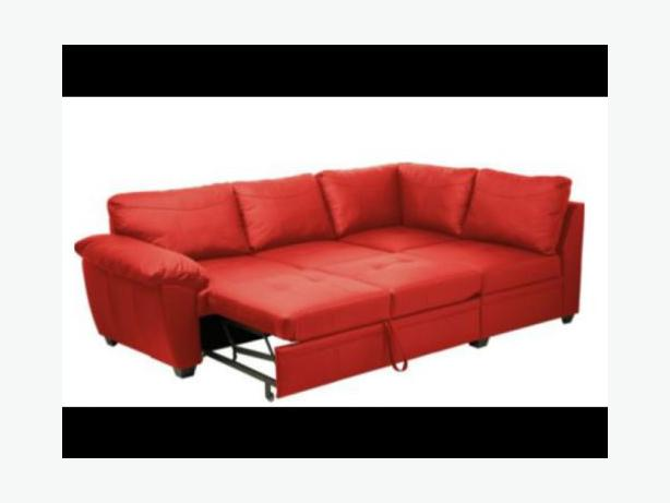 Sensational Log In Needed 510 Fernando Genuine Leather Red Corner Sofa Bed With Storage Caraccident5 Cool Chair Designs And Ideas Caraccident5Info