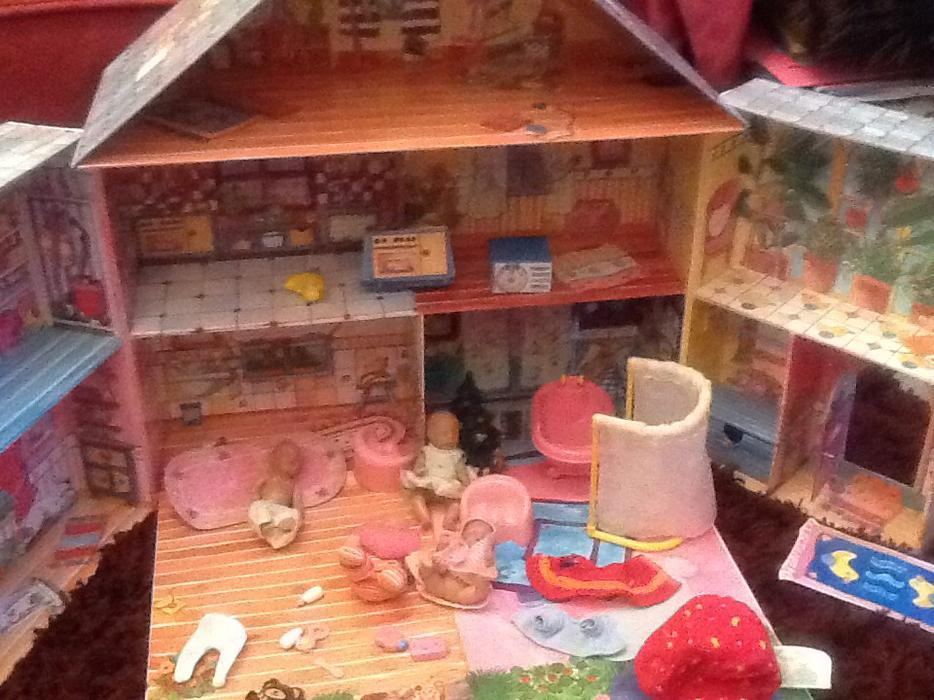 Baby Bedroom In A Box Special: Baby Born Mini World House Bedroom Box Dolls &accesories