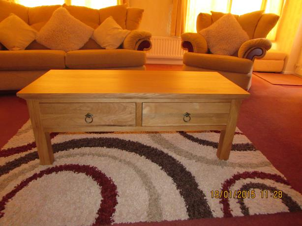 Coffee table kingswinford dudley for 100 year old oak table