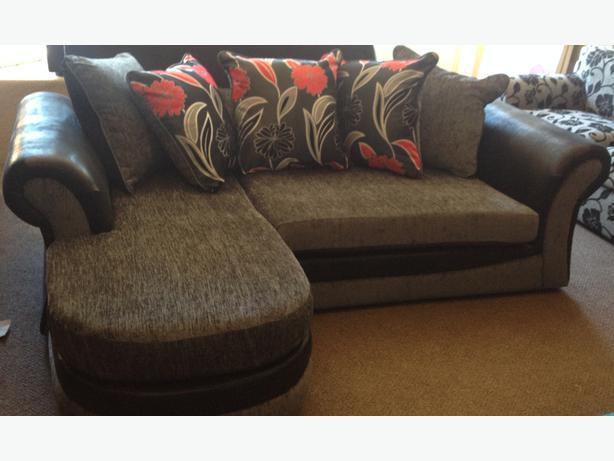 Hand corner devon sofas second