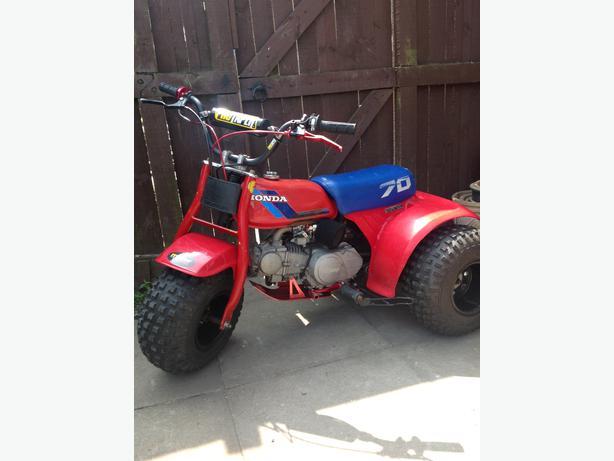 honda 70 three wheeler manual