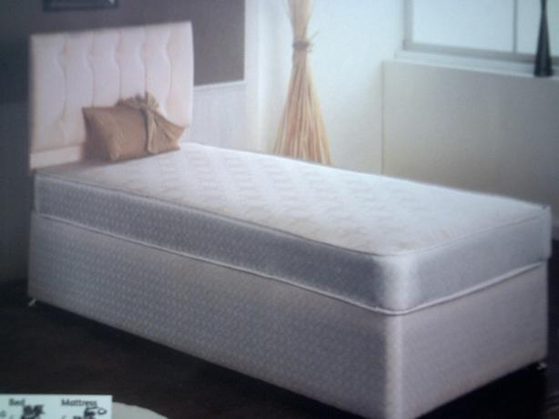Bed single brand new wrapped up special offer for New single divan beds