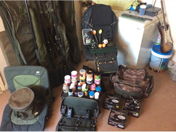  Log In needed £500 · full carp setup, all top names, greys, daiwa, delkim