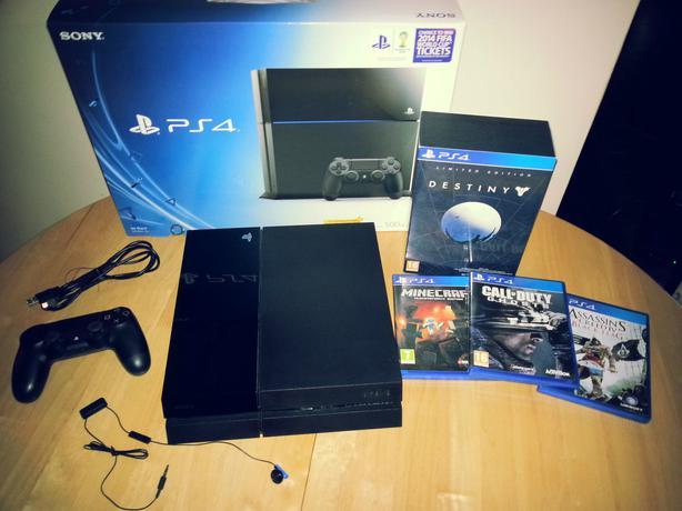 New Sony Playstation 4 Games : Sony playstation latest model gb jet black