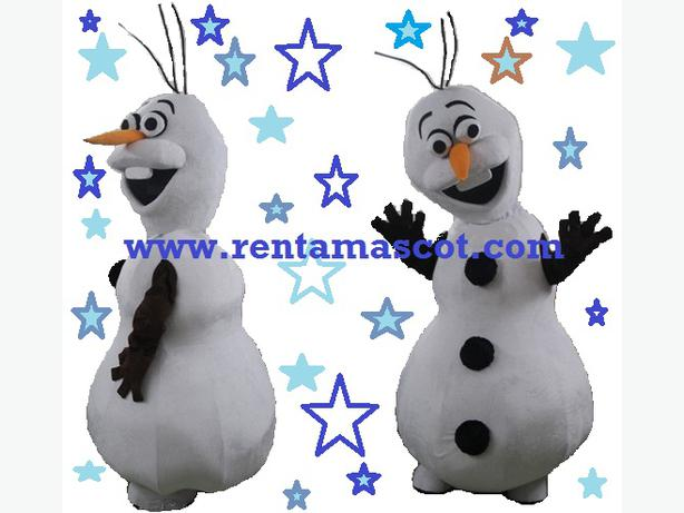 £45 HIRE OLAF SNOWMAN FROZEN  ADULT MASCOT FANCY DRESS COSTUME PARTY ADULT SUIT