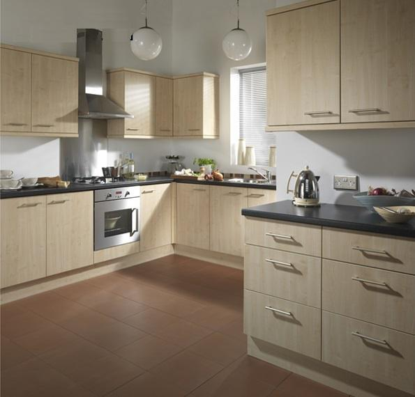 1000mm kitchen base unit with maple doors brand new for Kitchen cabinets 1000mm