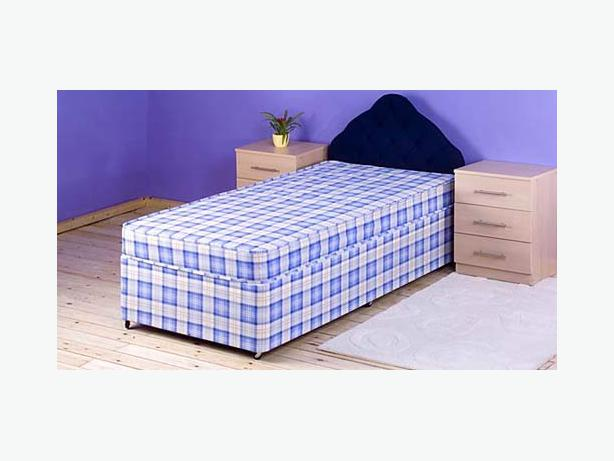 Super budget mattress extra thiick quality single mattress for Good quality single beds