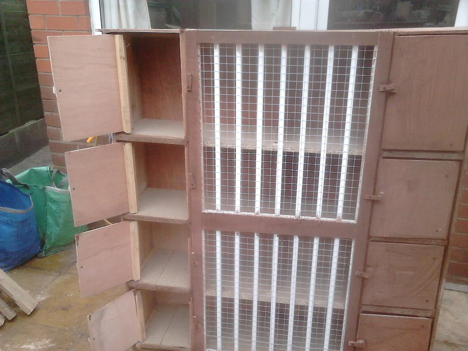 how to build pigeon nest boxes