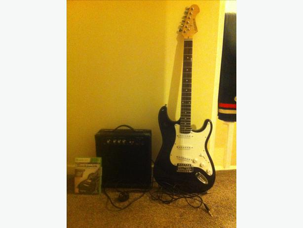 rocksmith electric guitar and xbox 360 game halesowen dudley. Black Bedroom Furniture Sets. Home Design Ideas