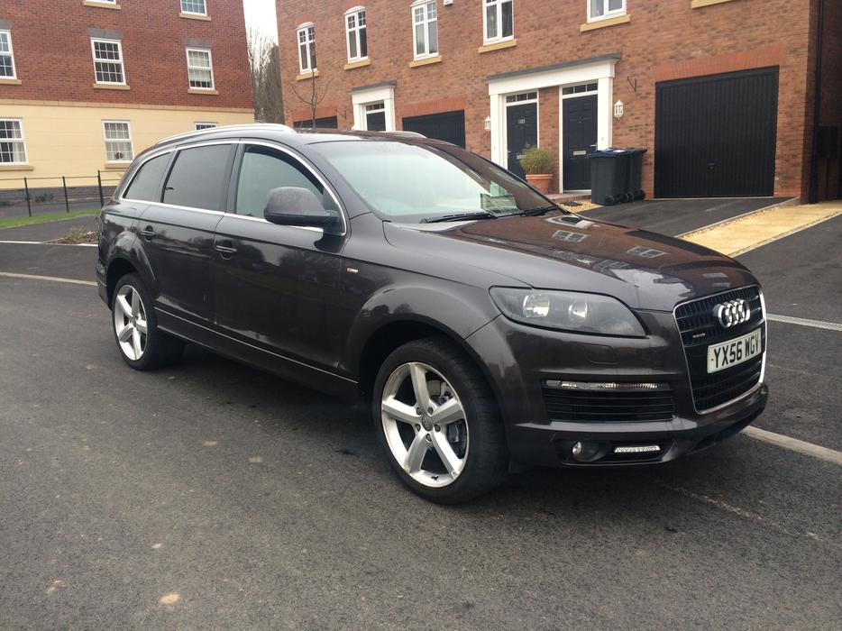 audi q7 2006 s line quattro 3 0 tdi auto paddle shift 7 seater 4x4 grey smethwick dudley. Black Bedroom Furniture Sets. Home Design Ideas