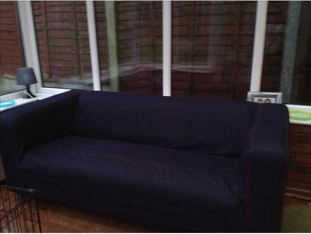 Ikea Klippan Sofa With Denim Cover Dudley Wolverhampton