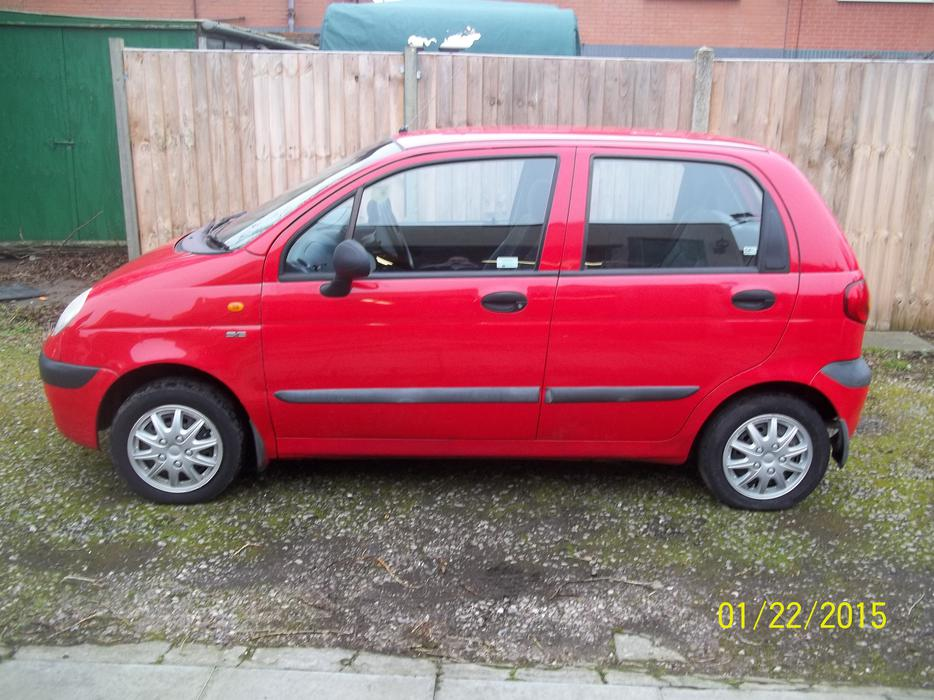 daewoo matiz se 2001 52k mot bloxwich dudley. Black Bedroom Furniture Sets. Home Design Ideas