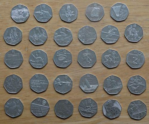 Olympic 50p Coin Set Amp Individual Coins Wolverhampton Dudley