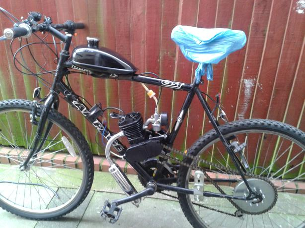 80cc Pedal And Bump Rev And Go 26inch Mountain Bike