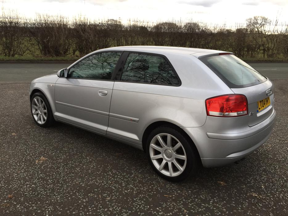 Audi A3 2 0 Tdi S Line Sport 2004 12mnths Mot Heated Leather Walsall Dudley
