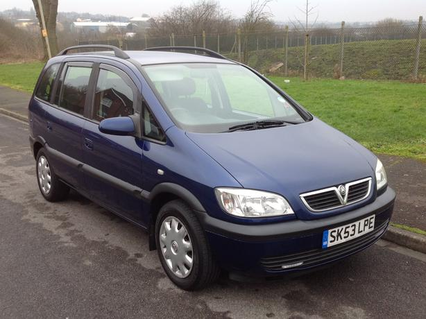 vauxhall zafira 1 8 16v design 53 7 seater v g c mot drive away dudley dudley. Black Bedroom Furniture Sets. Home Design Ideas