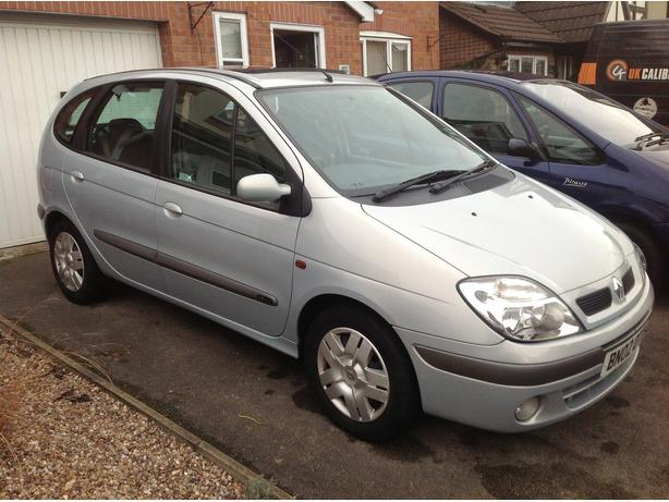 renault megane scenic expression plus 1 6 manual 2002 other black country location wolverhampton. Black Bedroom Furniture Sets. Home Design Ideas