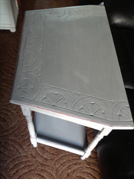 Foyer Console Xbox : Elegant shabby chic console hall telephone table