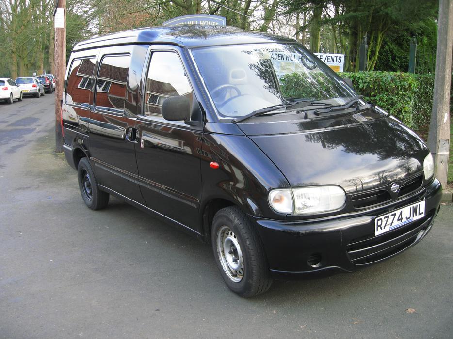 nissan vanette 2 3 diesel cargo for sale other black. Black Bedroom Furniture Sets. Home Design Ideas