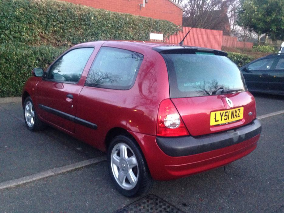 2002 renault clio 1 2 sandwell wolverhampton. Black Bedroom Furniture Sets. Home Design Ideas