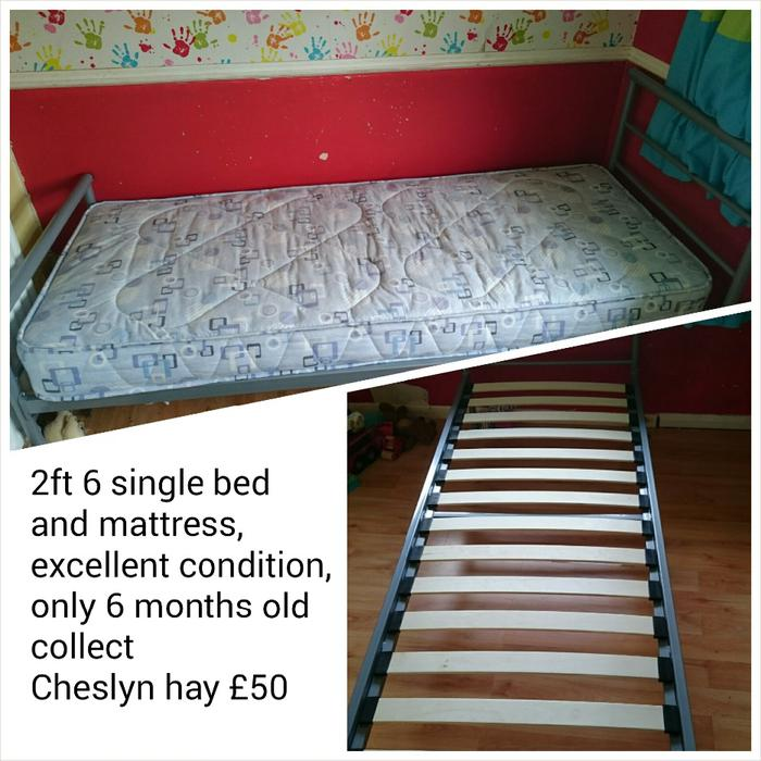 2ft 6 Single Bed Walsall Wolverhampton