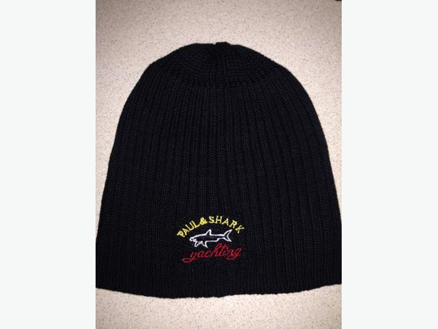 paul shark black beanie hat WOLVERHAMPTON 6a83f7bd74c
