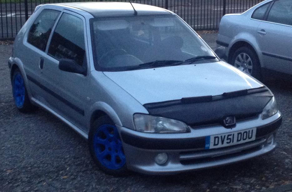 Peugeot 106 1 1 Gti Rep 12 Months Mot From Today Tipton