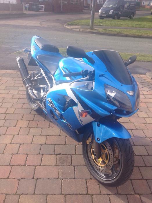 Reduced   2003 Kawasaki Zx9r F2 Bloxwich  Wolverhampton