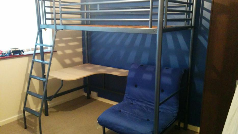 Jaybee High Sleeper Bed Coseley Wolverhampton