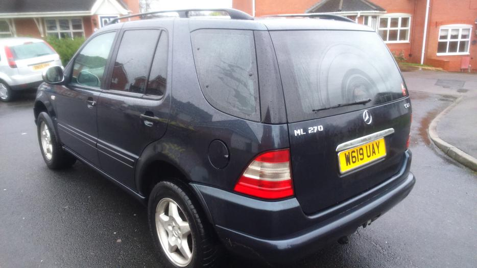 mercedes ml 270 cdi automatic 7 seater coseley dudley. Black Bedroom Furniture Sets. Home Design Ideas
