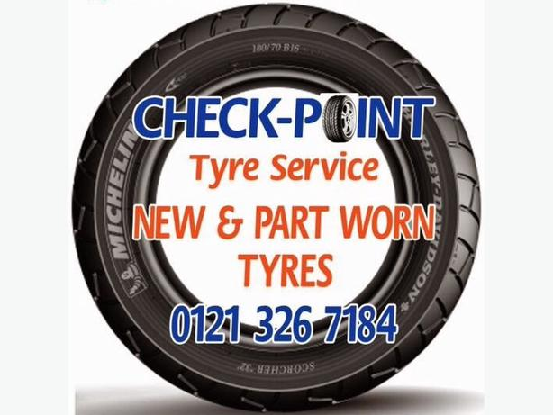 Tyres New and Part Worn