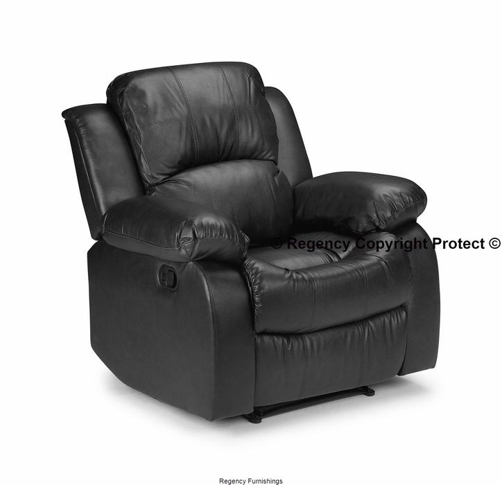 Sofa For Sale In Wolverhampton: New Charleigh Reclining Armchair Bonded Leather Black Or
