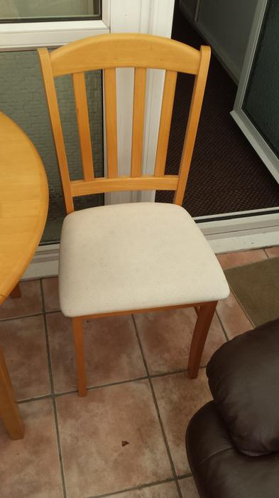 Round Dining Table Chairs Fold Down Sides Kingswinford Wolverhampton