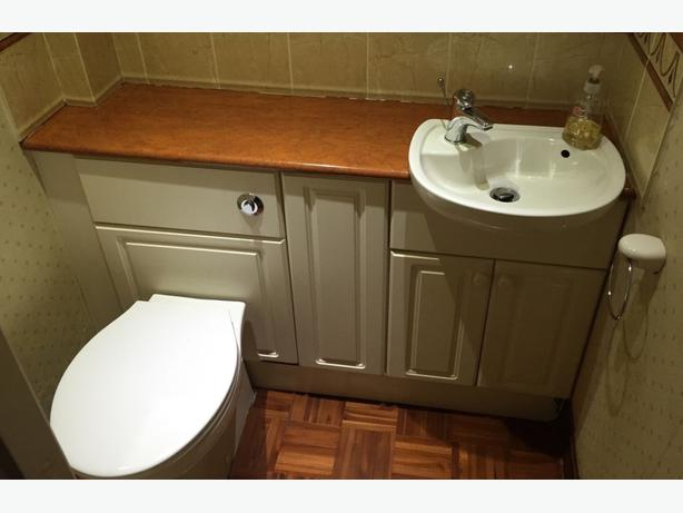 Toilet Sink Unit : ... TOILET AND SINK UNITS CLOAKROOM SUITE WHITE SMALL DOWNSTAIRS BATHROOM