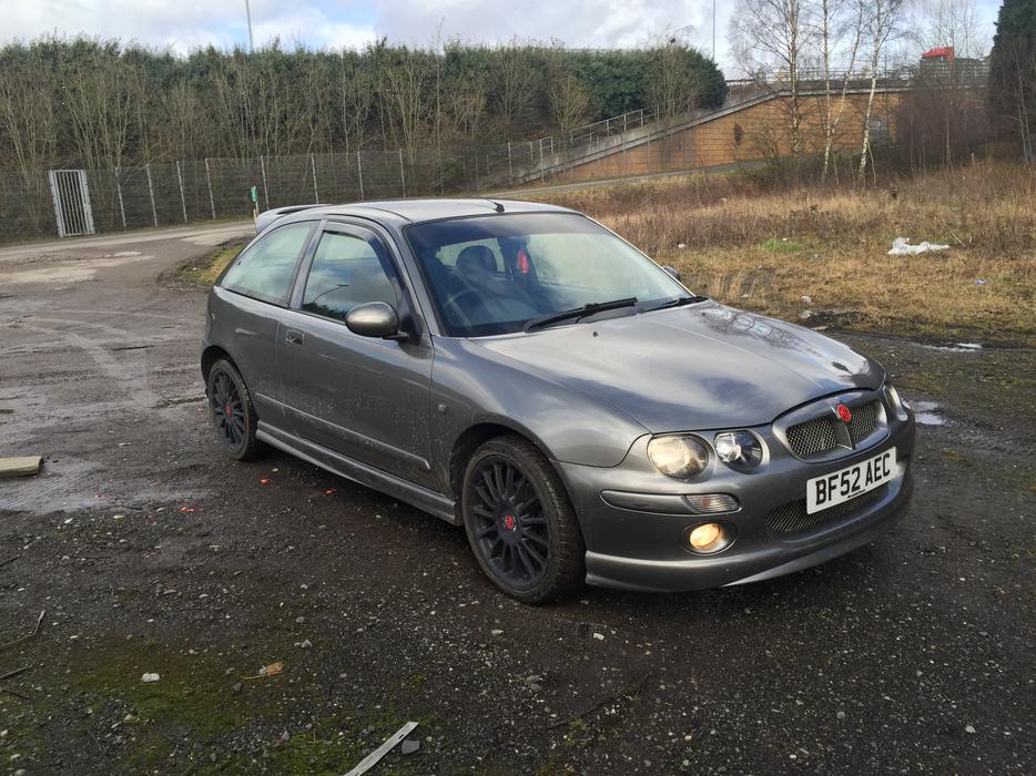for trade mg zr 105 1 4 16v xpower grey clean unabused. Black Bedroom Furniture Sets. Home Design Ideas