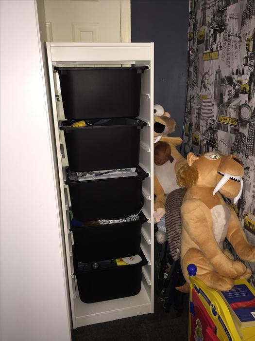 Ikea trofast storage unit brierley hill dudley - Mobile trofast ikea ...