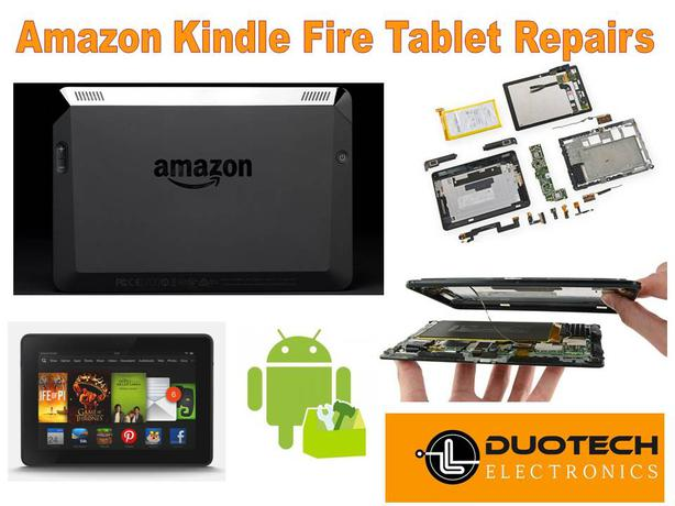 Log In needed Amazon Kindle Fire Tablet Parts & Repair Service
