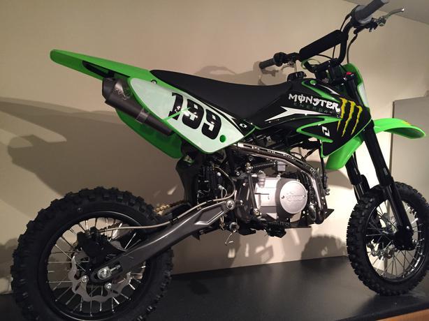 Stomp Pit Bike 125cc Wpb Monster Energy Motocross Wolverhampton