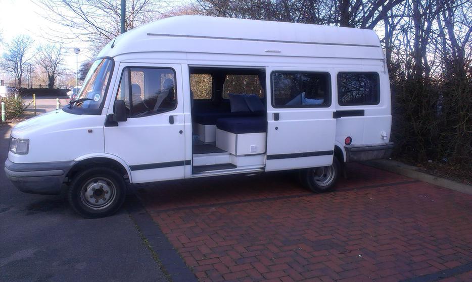 Camper Van Conversion Ldv Convoy 2 4 Turbo Diesel