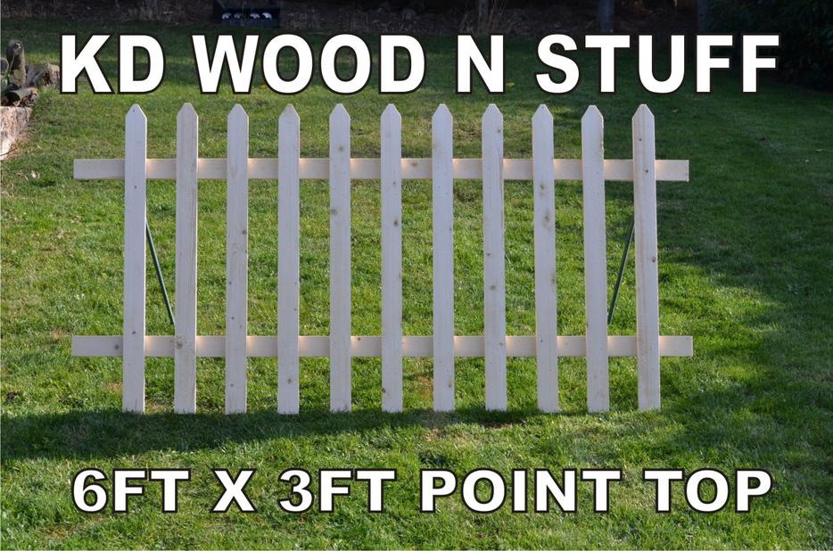 6ft X 3ft Wooden Picket Fence Panels Dudley Sandwell