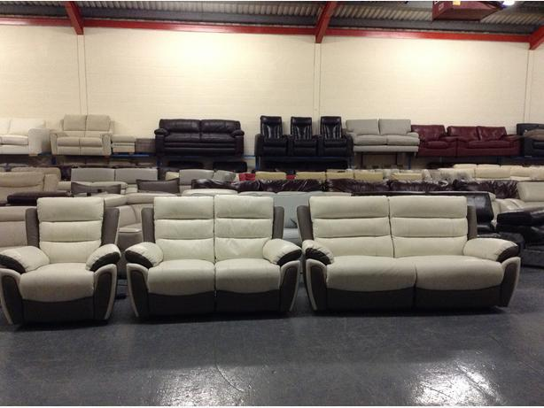 Scs Sofas Leather Refil Sofa