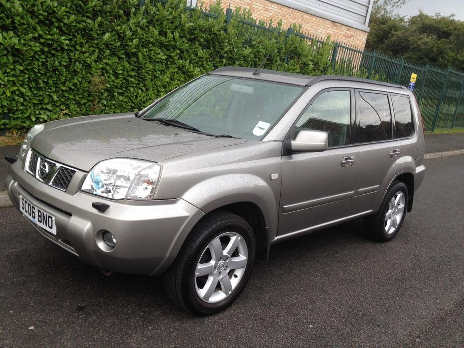 nissan x trail aventura dci silver 2006 stroud gloucester. Black Bedroom Furniture Sets. Home Design Ideas