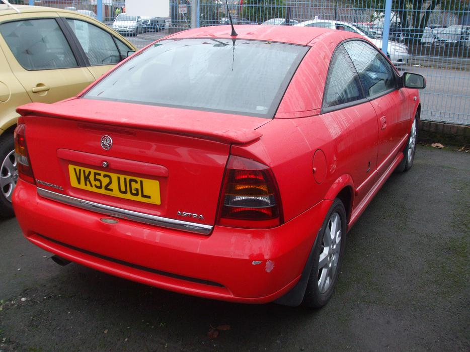 895 vauxhall astra bertone edition 2dr vauxhall - Opel astra coupe bertone fiche technique ...