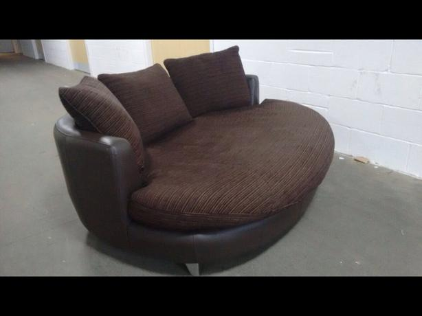 Marvelous Log In Needed 179 799 Beautiful Large Leather Fabric Cuddle Chair We Deliver Uk Wide Forskolin Free Trial Chair Design Images Forskolin Free Trialorg