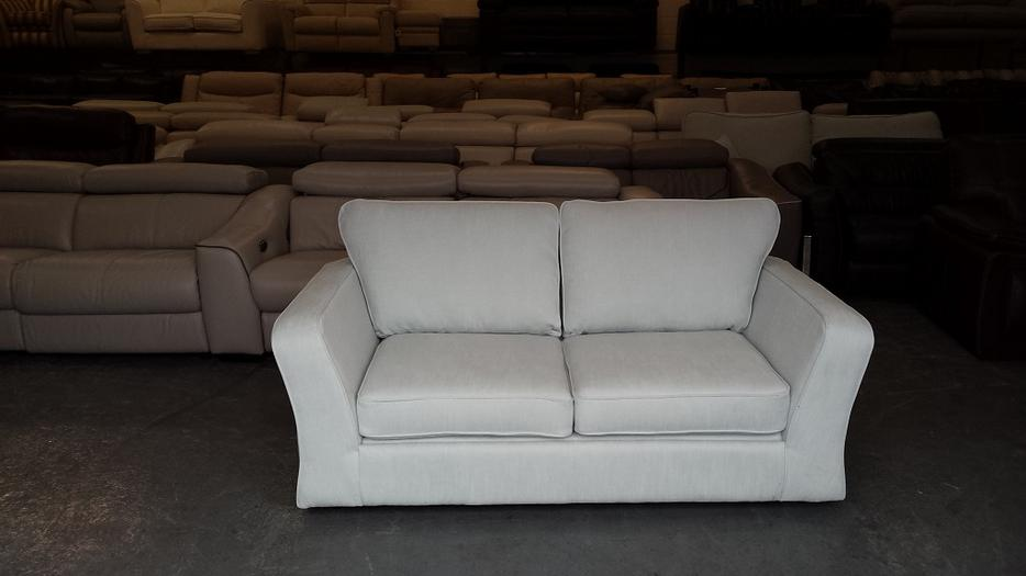 New M Amp S Tyler Duck Egg Blue Fabric 2 Seater Sofa Bed