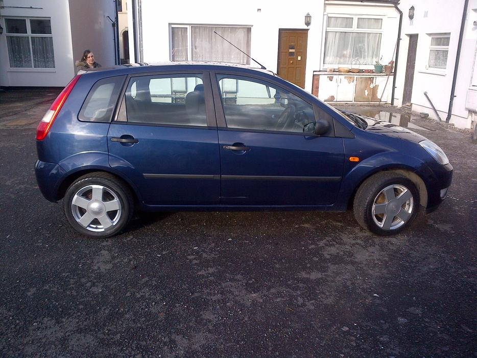 ford fiesta owners manual 2003