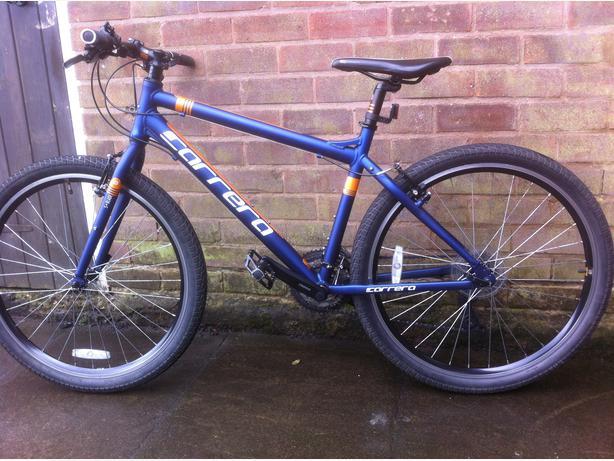  Log In needed £80 · Carrera axle ltd edition bike