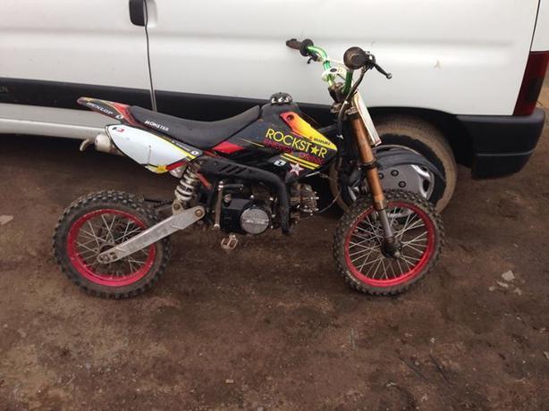 Suzuki 125 Pit Bike Willenhall Dudley